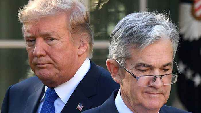 Trump Unleashes More Vitriol On Fed Over Interest Rates