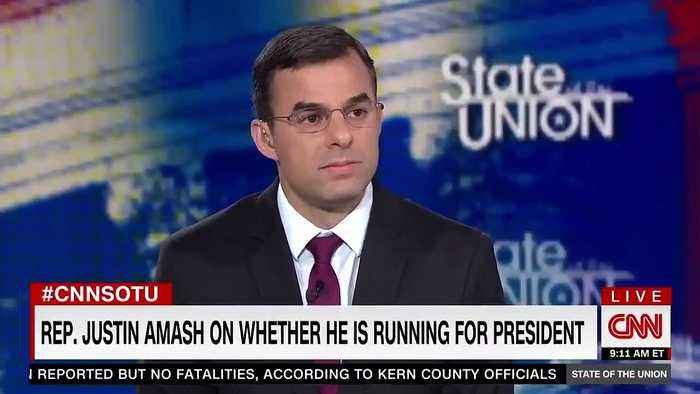 Justin Amash Doesn't Rule Out A 2020 Presidential Bid