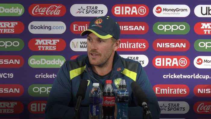 World Cup clash with England will be great spectacle - Finch