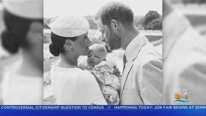 Royal Family Shows Photos Of Baby Archie Following His Christening