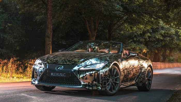 Lexus LC Cabriolet goes into production