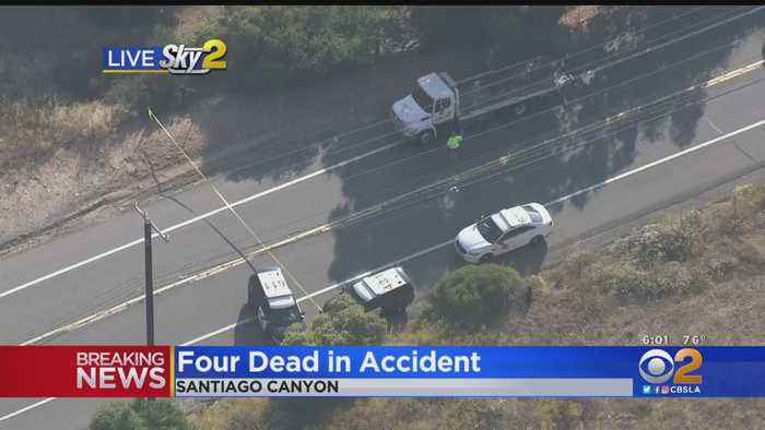 4 Dead After 2 Motorcycles Collide In Orange County