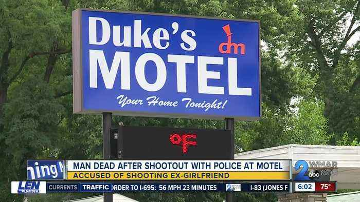 Man accused of shooting ex-girlfriend in Windsor Mill, dies after shootout with police at Rosedale motel