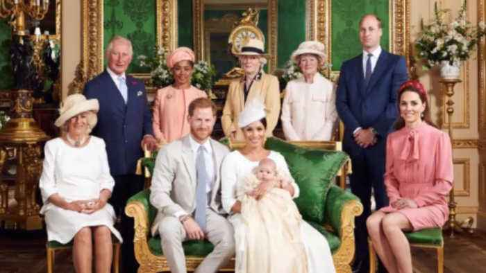 Meghan, Duchess of Sussex and Prince Harry 'overjoyed' as Archie Christened