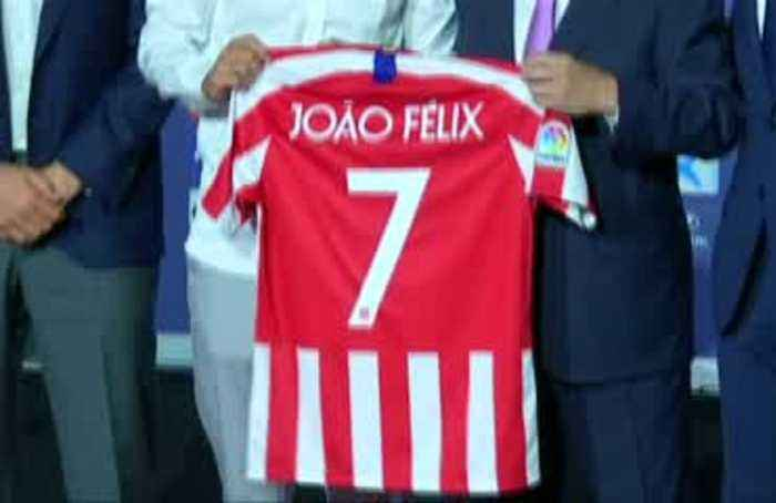 Atletico bank on record signee Joao Felix to fill Griezmann's boots