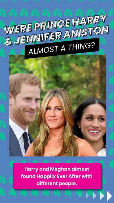 Were Prince Harry and Jennifer Aniston almost a thing?