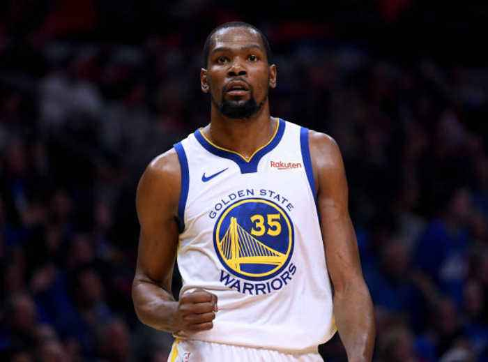 Kevin Durant Will Wear No. 7 With Nets