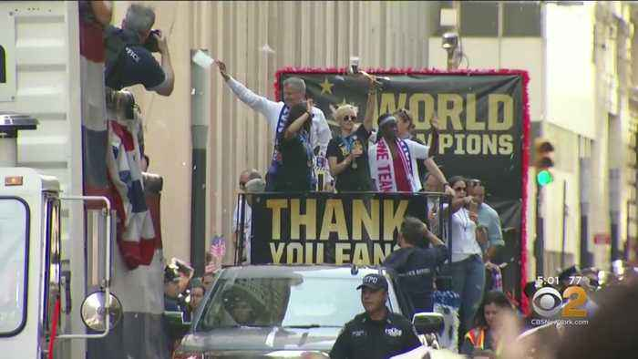 NYC Preparing For Women's World Cup Celebration