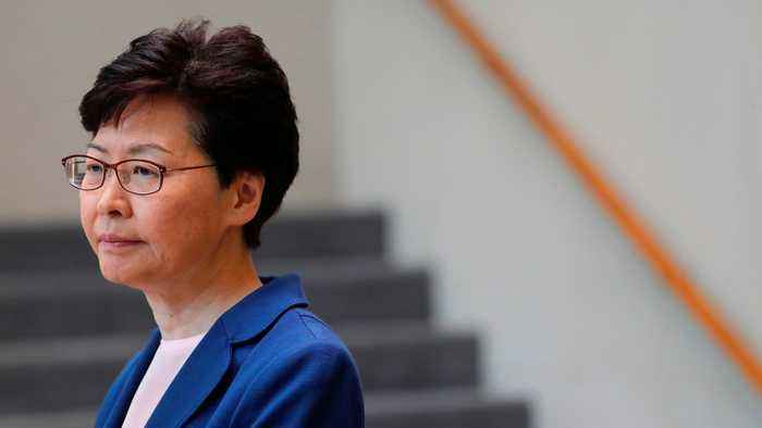 Hong Kong leader Carrie Lam says extradition bill 'dead'