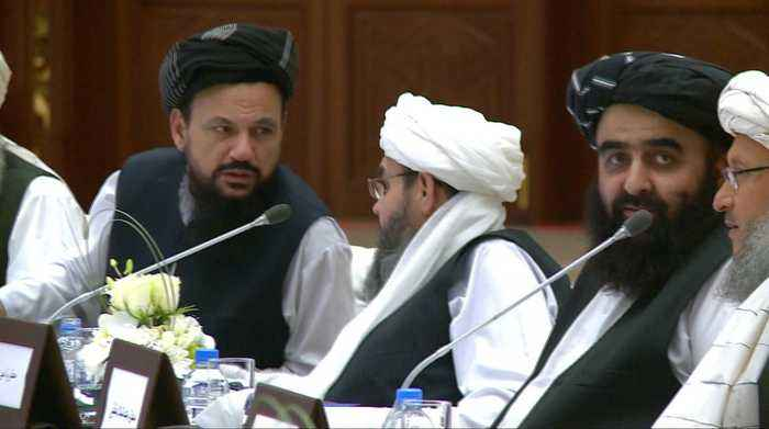 Afghan talks: Rival sides agree on 'road map for peace'