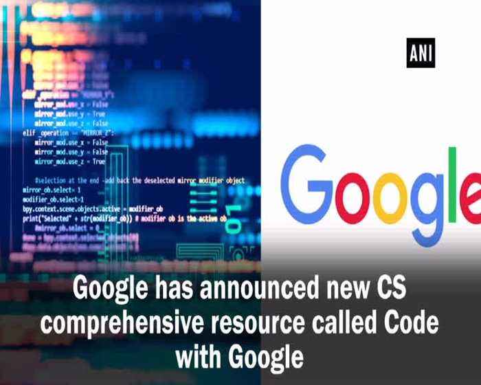 Google announces 'Code with Google' to teach young kids coding