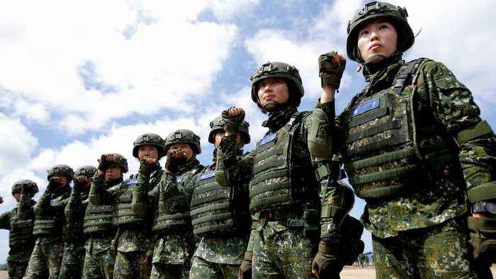 US approves possible $2.2bn arms sale to Taiwan