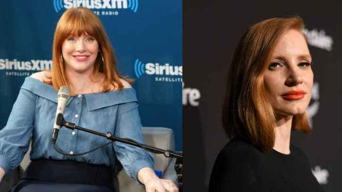 Bryce Dallas Howard's father thought Jessica Chastain was his daughter!