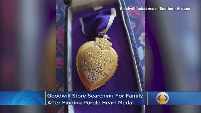 Goodwill Store Searching For Family After Finding Purple Heart Medal In Donation Box