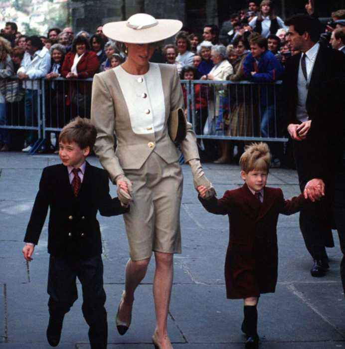 Prince William and Prince Harry are JUST LIKE their mother Diana