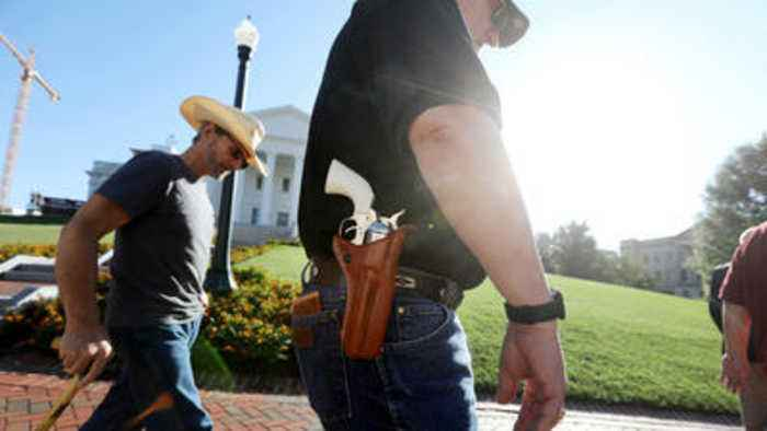 Sights and Sounds from Virginia Legislature's Special Session on Guns
