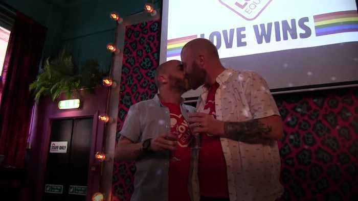 Northern Ireland: Campaigners toast landmark milestone in bid to secure same-sex marriage