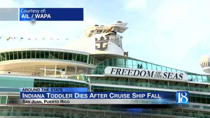 Indiana toddler dies after falling from 11th floor of cruise ship