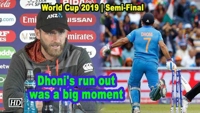 World Cup 2019 | Dhoni's run out was a big moment: Williamson