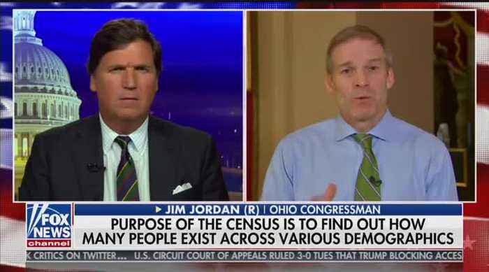 'Maybe they're afraid' Rep. Jordan suggests reason Dems don't want census citizenship question