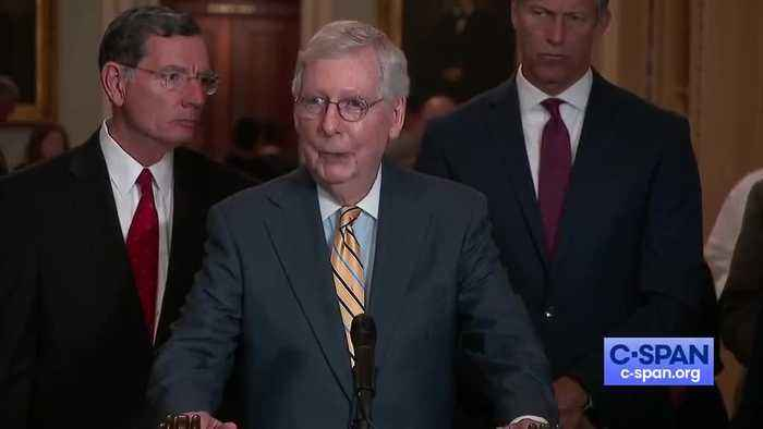 McConnell says he and Obama are both against reparations