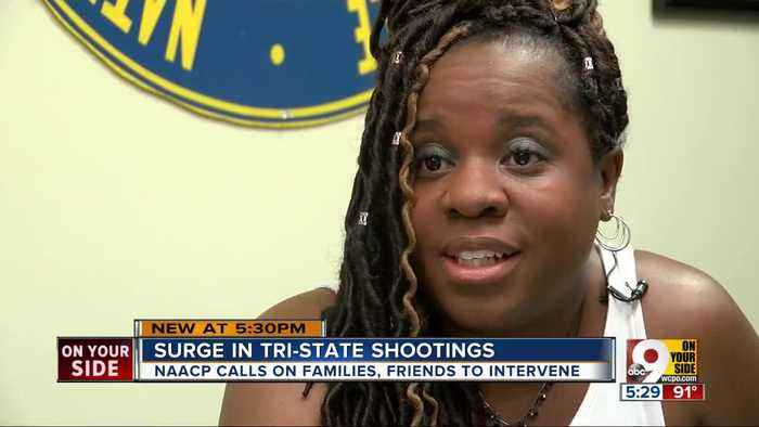 NAACP calls on friends, family to help stem tide of violence
