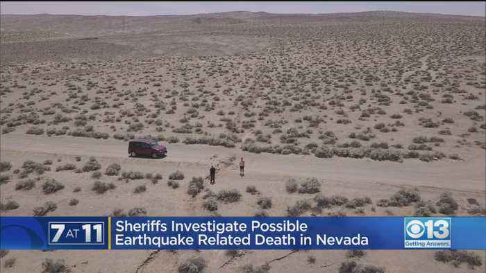 Sheriff Investigates Possible Earthquake-Related Death In Nevada