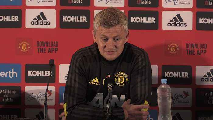 Ole Gunnar Solskjaer: Manchester United are under no pressure to sell players