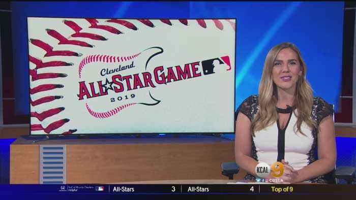 Mike Trout, Tommy La Stella Honor Tyler Skaggs During MLB All-Star Game