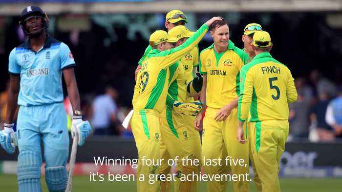 Aaron Finch hopes Australia carry on strong showing at World Cups