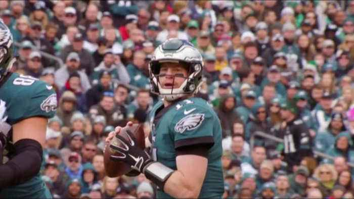 Which quarterback is more likely to represent NFC in a Super Bowl: Philadelphia Eagles quarterback Carson Wentz or Carolina Pant
