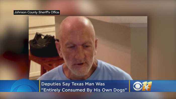 Deputies: 57-Year-Old Texas Man Was 'Entirely Consumed By His Own Dogs'