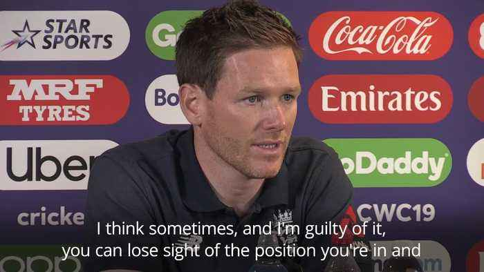 Eoin Morgan: England players 'living the dream' ahead of World Cup semi-final