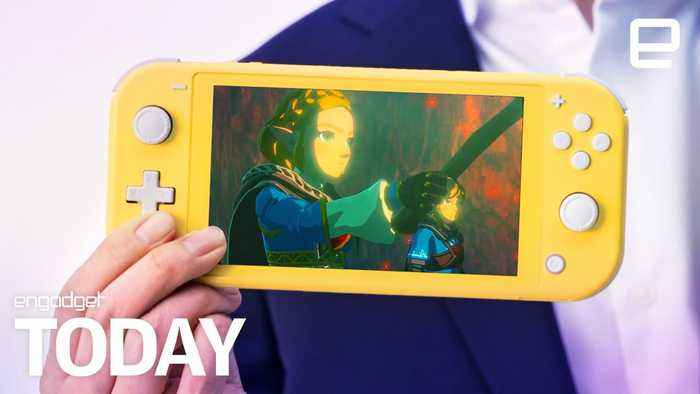Nintendo's $200 Switch Lite is coming on September 20th | Engadget Today