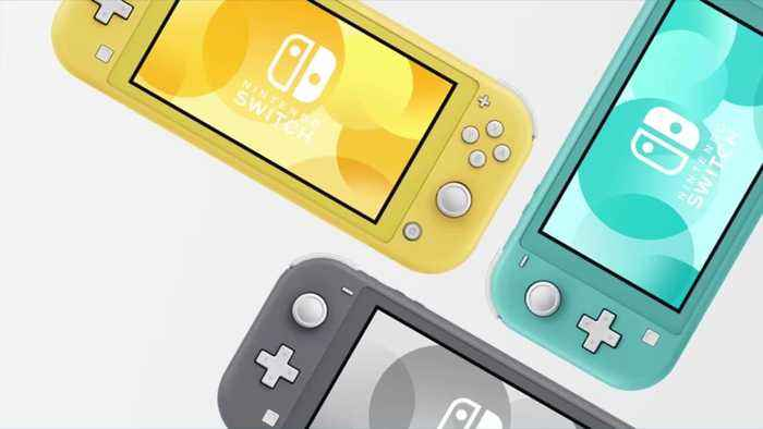 Nintendo reveals portable Switch device called Switch Lite