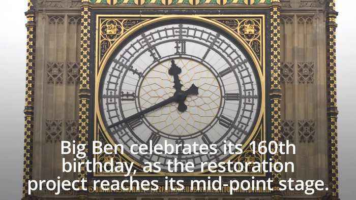 Big Ben celebrates 160th birthday