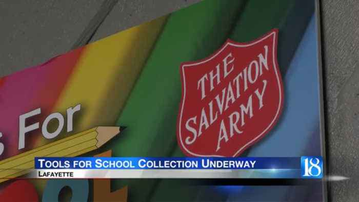 Tools for School Collection Underway