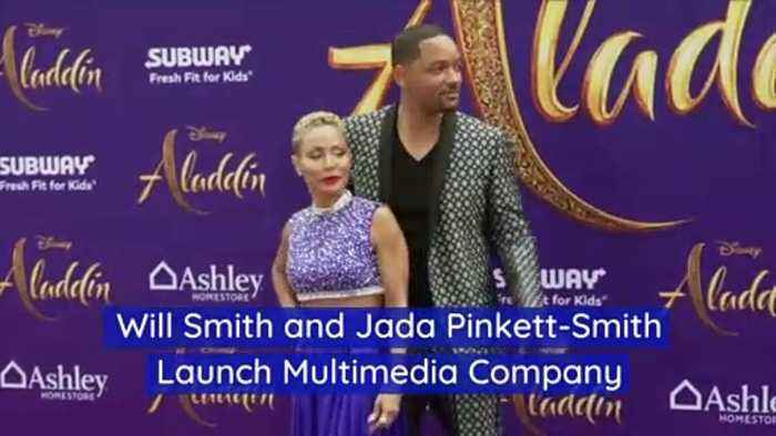 Will Smith and Jada Pinkett-Smith Launch Multimedia Company