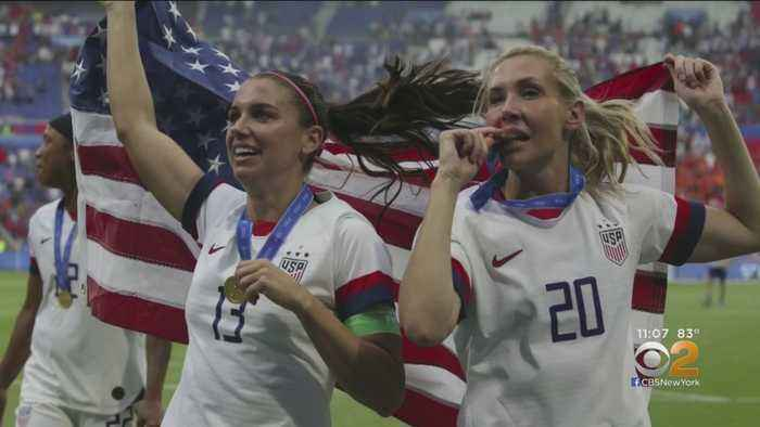 Team USA Celebrates In NYC After World Cup Win