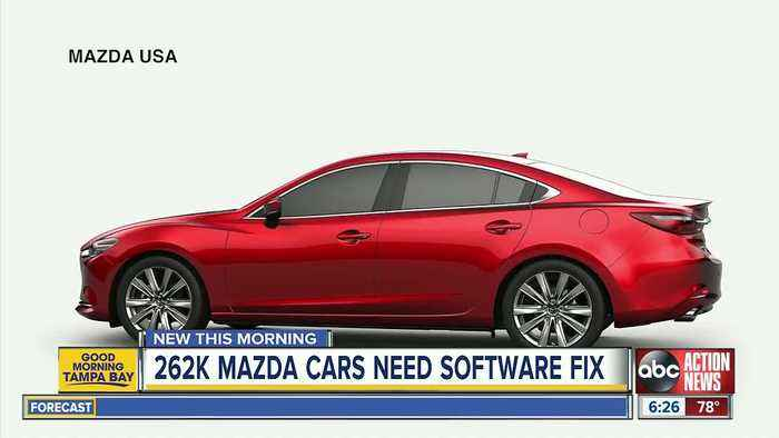 Mazda recalls over 262,000 vehicles to fix engine stall problem