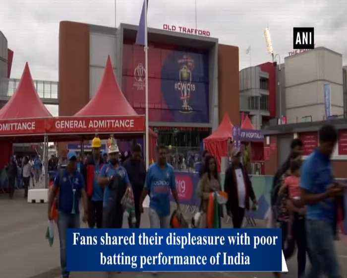 Fans meltdown after India's exit from World Cup