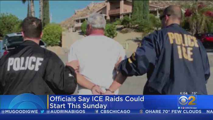 ICE Deportation Raids Expected To Begin Soon