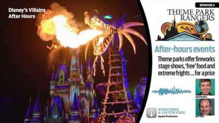 Disney villains join the lineup of theme park special events