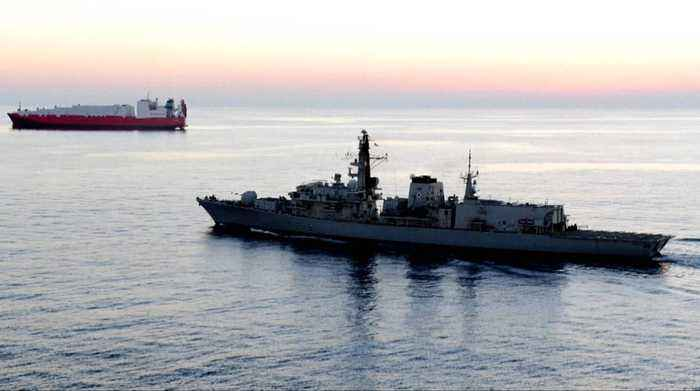 Iranian boats attempted to impede British tanker in the Gulf: UK