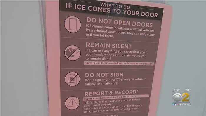 Immigration Activists Rally Ahead Of Anticipated ICE Raids