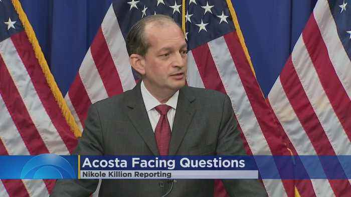 US Labor Secretary Alex Acosta Says He Won't Resign, Defends Role In Epstein Scandal