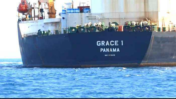 Captain, chief officer of seized Iranian tanker arrested in Gibraltar