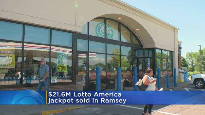 Lotto America Ticket Worth $21.6M Sold At Ramsey Gas Station