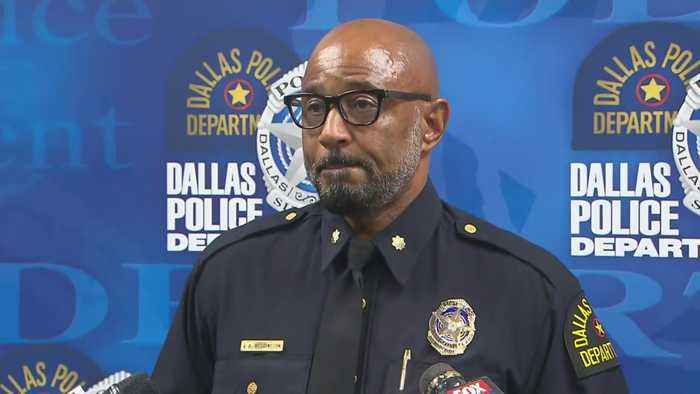 Dallas Police Department Holds News Conference On Cedric Jackson Investigation