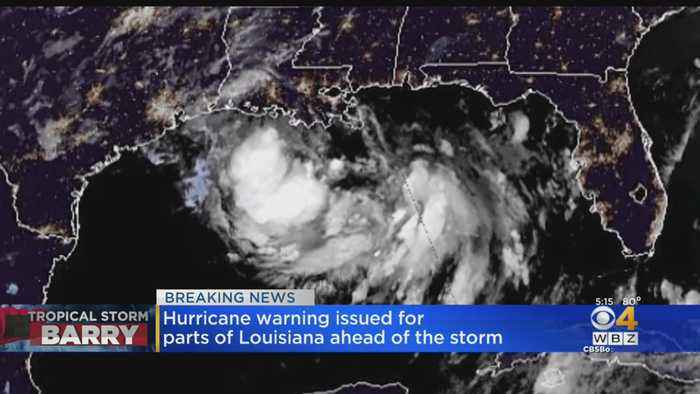 Tropical Storm Barry Brings Threat Of Major Flooding, Storm Surge For Louisiana
